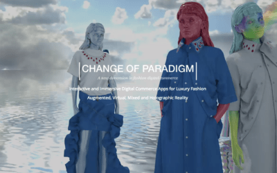Change of Paradigm, re-invents digital commerce for fashion with 3D simulated content